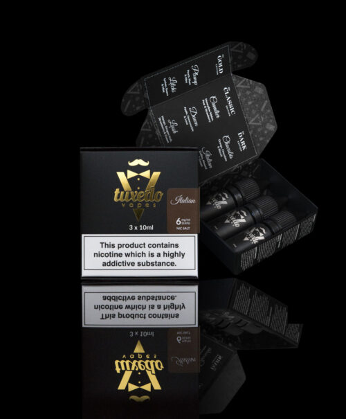 Tuxedo Vapes Italian Salt nicotine